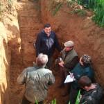 Wykonywanie profilu gleby